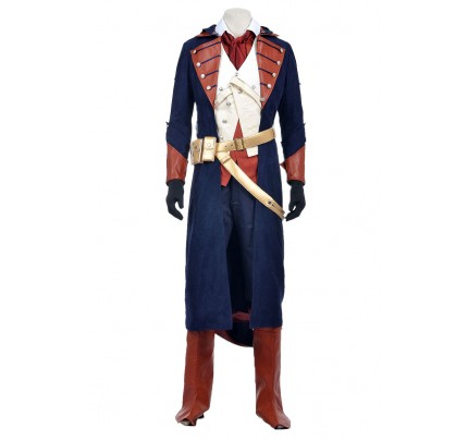 Arno Victor Dorian Costume For Assassins Creed Unity Cosplay