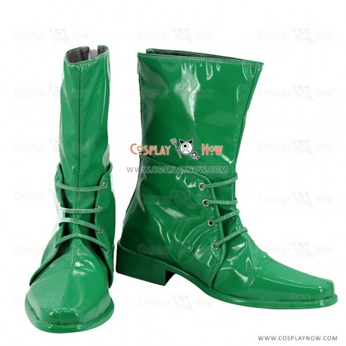 JoJo's Bizarre Adventure Cosplay Shoes Caesar Anthonio Zeppeli Green Boots