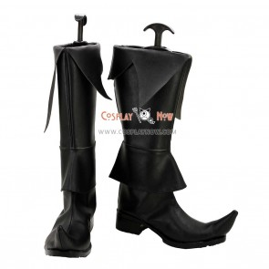 Magi: The Labyrinth of Magic Cosplay Shoes Hakuryuu Ren Black Boots