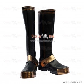 Samurai Warriors 3 Cosplay Shoes Motonari Mori Boots