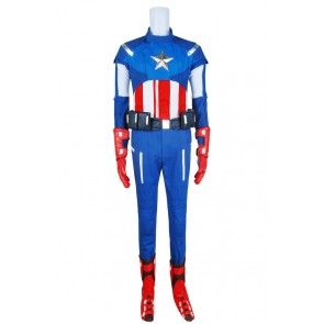 Steve Rogers From The Avengers Captain Americn Cosplay Costume