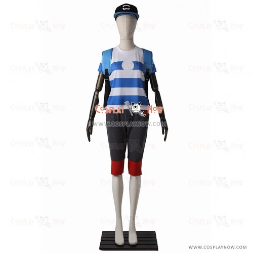 Male Protagonist Cosplay Costume from Pokemon Sun and Moon