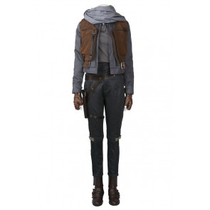 Jyn Erso Costume For Rogue One A Star Wars Story Cosplay Uniform