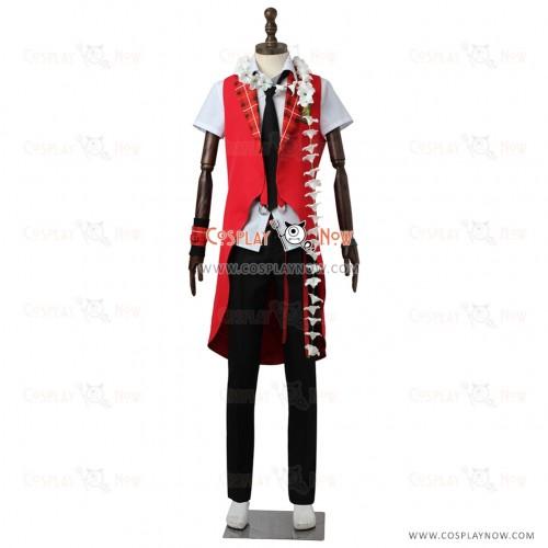 The Idolmaster SideM High×Joker Cosplay Iseya Shiki Costume Uniform