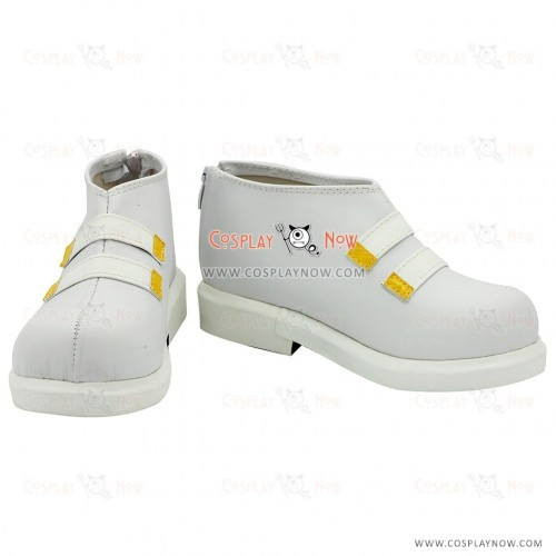 Karneval Nai Muhinyi White Cosplay Shoes