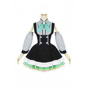 Love Live Cosplay Eli Ayase Maid Dress Costume