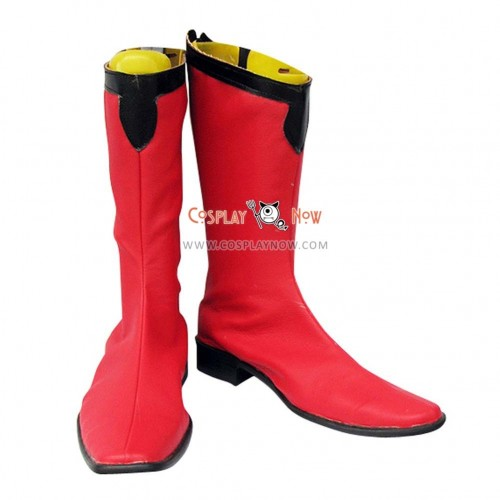 Gundam Char Cosplay Shoes Aznable Boots