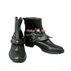 Yu-Gi-Oh! Yugi Muto Black Short Cosplay Boots