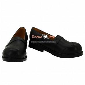 Unlight Acolyte Blau Black Cosplay Shoes