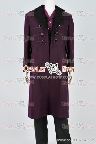 The Eleventh Doctor Dr 11th Costume For Doctor Who Cosplay & The Eleventh Doctor Dr 11th Costume For Doctor Who Cosplay Purple ...