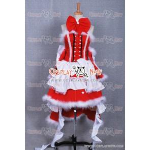 Pandora Hearts Alice Cosplay Costume Christmas Dress