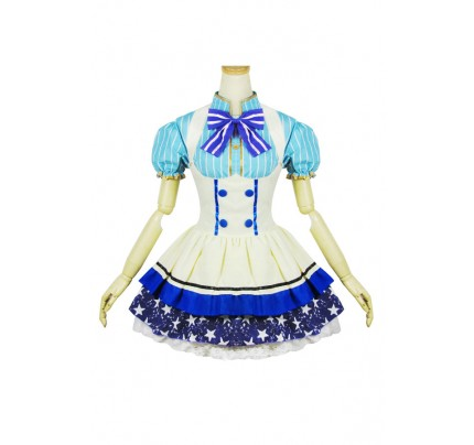 Love Live Cosplay Nozomi Tojo Maid Dress Costume