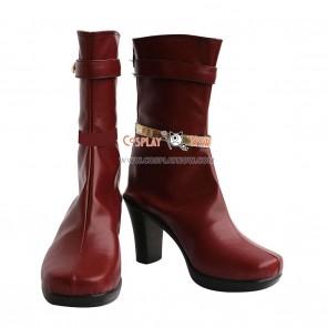 The Idolmaster Cosplay Shoes Futami Ami Boots
