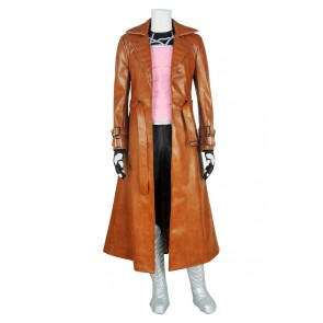 Gambit Costume For X Men Apocalypse Cosplay Uniform New