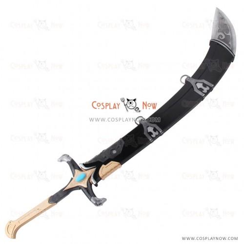 Overwatch OW Genji Beduin Skin Long Sword with Sheath Cosplay Prop
