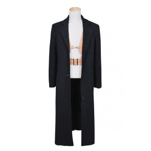 Leon: The Professional Leon Coat Vest Cosplay Costume Full Set
