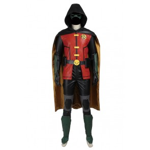 Young Justice Robin Timothy Tim Drake Cosplay Costume
