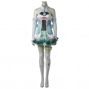 Vocaloid 2 GOODSMILE RACING 2017 Cosplay Hatsune Miku Costume Dress