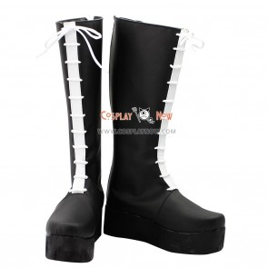 Hitman Reborn Cosplay Shoes Colonnello Black Boots