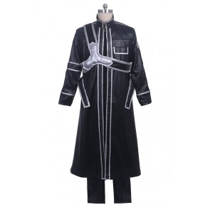 Kirito Kazuto Kirigaya Costume For Sword Art Online Cosplay