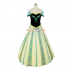 Frozen Cosplay Princess Anna Costume