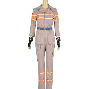 Ghostbusters Abby Yates Patty Tolan Cosplay Costume Jumpsuit