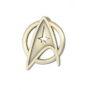 Star Trek Cosplay Voyager Command Brooch Badge