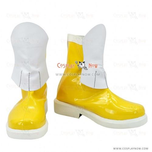 Cute High Earth Defense Club Love Cosplay Shoes Io Naruko Boots