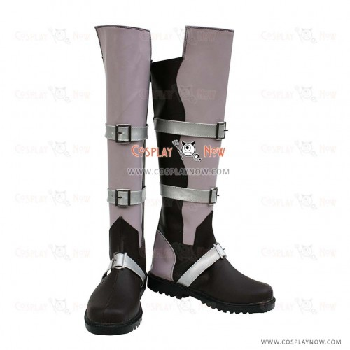 Final Fantasy XIII Cosplay Shoes Lightning Boots