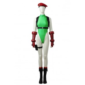 Street Fighter V Cosplay Cammy White Costume