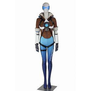 Overwatch Tracer Cosplay Uniform Blue Version