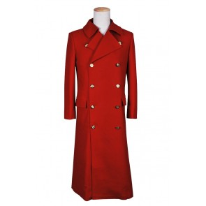 The Fourth Doctor Red Wool Who is The 4th Dr Cosplay Costume