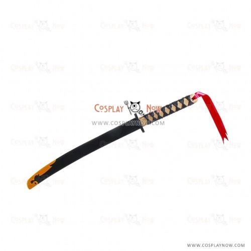 Hakuouki Yukimura Chizuru Sword with Sheath PVC Cosplay Props