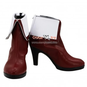 Kyoukai no Kanata Cosplay Shoes Mirai Kuriyama Boots