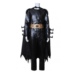 Batman Cosplay Black Leather Costume