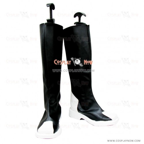 Gundam Seed Cosplay Shoes Z.A.F.T Uniform Black Boots