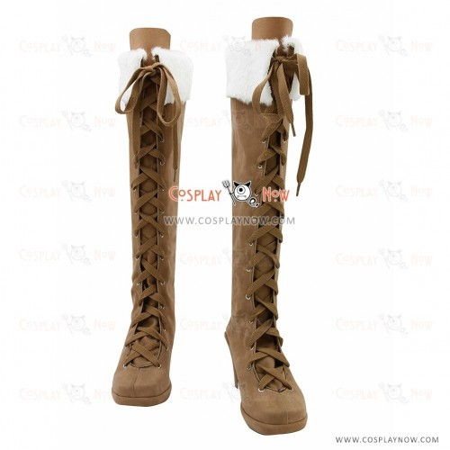 Super Sonico Cosplay Boots for Girls