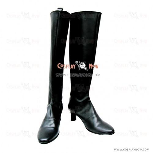 Black Rozen Maiden Cosplay Shoes Suigintou Boots