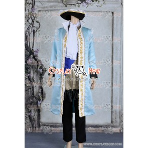 Hetalia: Axis Powers France Francis Bonnefeuille Cosplay Costume