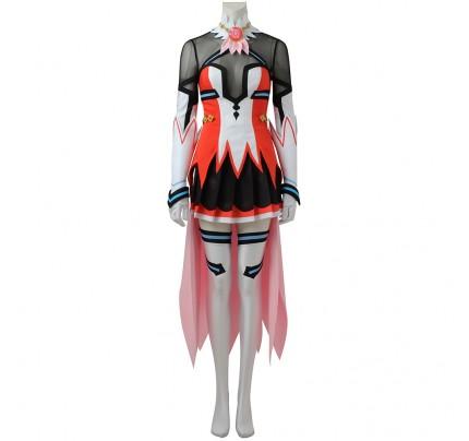 Battle Girl High School Cosplay Hoshitsuki Miki Costume Uniform