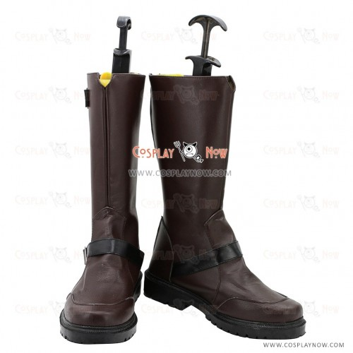 Noragami Cosplay Shoes Yato Brown Boots