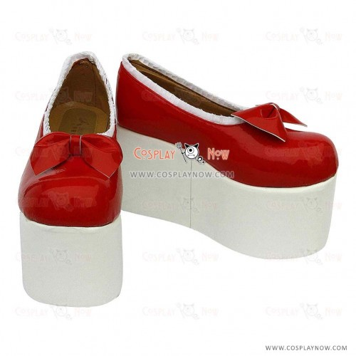 Touhou Project Cosplay Shoes Flandre Scarlet Boots