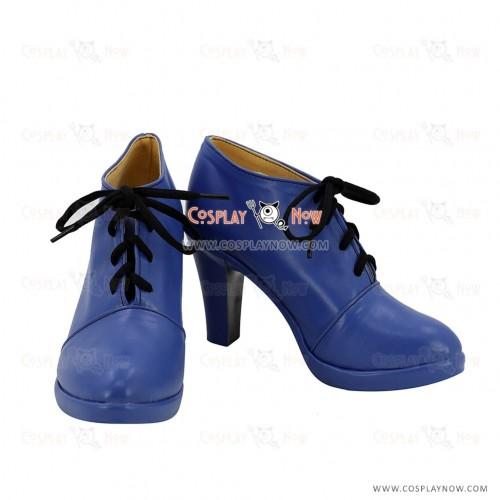 Future GPX Cyber Formula Cosplay Asuka Sugo Shoes