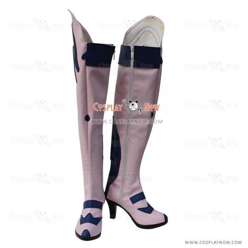 Neon Genesis Evangelion Cosplay Shoes Asuka Langley Soryu Boots