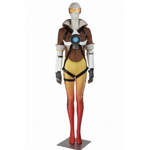 Tracer Costume For Overwatch Cosplay Uniform Yellow
