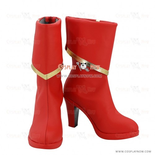 Fate Apocrypha Cosplay Shoes Saber Boots