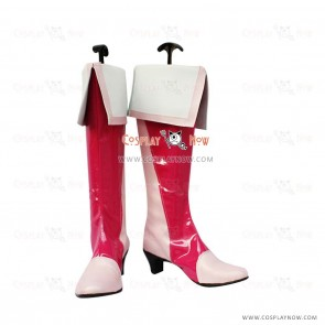 Pretty Cure 6 Cosplay Shoes Cure Peach Boots