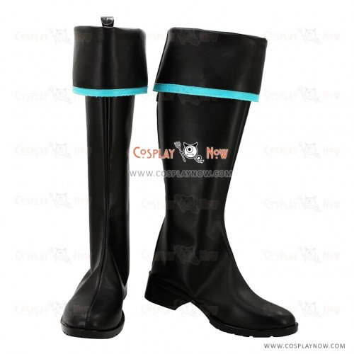 Vocaloid Cosplay Shoes Hatsune Miku Military Boots