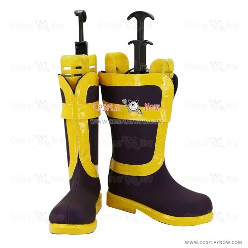 Fairy Tail Cosplay Shoes Natsu Dragneel Boots
