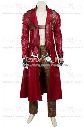 Dante Costume For Devil May Cry 3 Cosplay Uniform